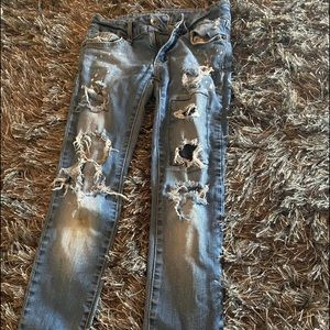 Other - Distressed ripped jeans